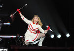 Madonna performs during her MDNA World Tour 2012 live at The Staples Center in Los Angeles, California on October 10,2012                                                                               © 2012 DVS / RockinExposures