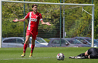 Maurane Marinucci (7) of Standard  appeals to the referee during a female soccer game between Standard Femina de Liege and Oud Heverlee Leuven on the 10th and last matchday in play off 1 of the 2020 - 2021 season of Belgian Scooore Womens Super League , saturday 29 th of May 2021  in Angleur , Belgium . PHOTO SPORTPIX.BE   SPP   SEVIL OKTEM