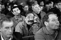 - assemblea sindacale alle acciaierie Falck di Sesto S.Giovanni (Milano, 1982)<br /> <br /> - union meeting at the Falck steelworks in Sesto S.Giovanni (Milan, 1982)