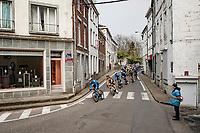 empty streets<br /> <br /> 85th La Flèche Wallonne 2021 (1.UWT)<br /> 1 day race from Charleroi to the Mur de Huy (BEL): 194km<br /> <br /> ©kramon