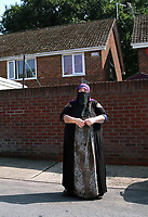 Tuesday 20 June 2017<br /> Pictured: Khadijah Sherazi, the next door neighbour to Darren Osborne in the Pentwyn area of  Cardiff, Wales, UK<br /> Re: The man who drove the vehicle which drove into worshippers near a north London mosque has been named as Darren Osborne from Cardiff, South Wales