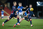 St Johnstone v Ross County…..29.12.19   McDiarmid Park   SPFL<br />Ali McCann gets between Joe Chalmers and Harry Paton<br />Picture by Graeme Hart.<br />Copyright Perthshire Picture Agency<br />Tel: 01738 623350  Mobile: 07990 594431