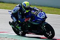 30th March 2021; Barcelona, Spain; Superbikes, WorldSSP600 , day 2 testing at Circuit Barcelona-Catalunya;   L. Bernardi riding Yamaha YZF R6 from CM Racing