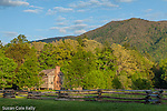 The Dan Lawson Place in Cades Cove, Great Smoky Mountains National Park, Tennesee, USA