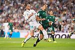 Real Madrid's Gareth Bale during La Liga match between Real Madrid and Real Betis at Santiago Bernabeu Stadium in Madrid, Spain September 20, 2017. (ALTERPHOTOS/Borja B.Hojas)