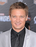 Jeremy Renner at Marvel's The Avengers World Premiere held at The El Capitan Theatre in Hollywood, California on April 11,2012                                                                               © 2012 DVS/Hollywood Press Agency
