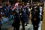 European General Strike.Some members of the Riot Police.November 14,2012. (ALTERPHOTOS/Carlos Rojo)