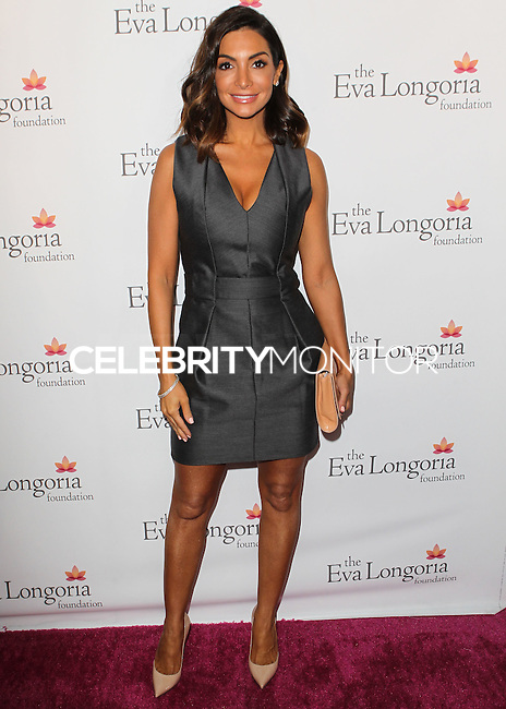 HOLLYWOOD, LOS ANGELES, CA, USA - OCTOBER 09: Courtney Laine Mazza arrives at the Eva Longoria Foundation Dinner held at Beso Restaurant on October 9, 2014 in Hollywood, Los Angeles, California, United States. (Photo by Celebrity Monitor)