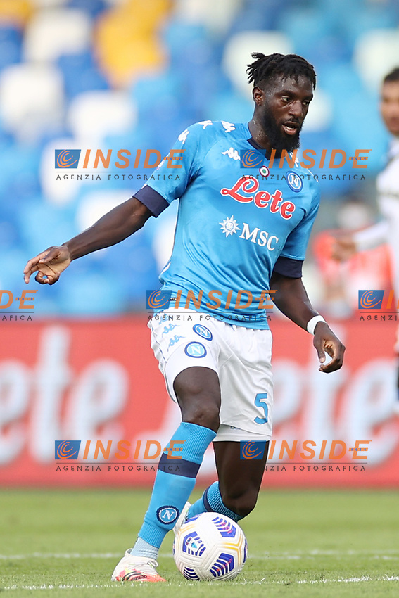 Tiemoue Bakayoko of SSC Napoli<br /> during the Serie A football match between SSC Napoli and Atalanta BC at stadio San Paolo in Napoli (Italy), October 17th, 2020. <br /> Photo Cesare Purini / Insidefoto