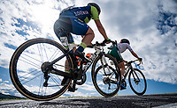 up the Cima Gallisterna Climb (2.3km @ 7%) <br /> <br /> Women's Elite Road Race from Imola to Imola (143km)<br /> <br /> 87th UCI Road World Championships 2020 - ITT (WC)<br /> <br /> ©kramon