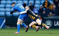 Photo: Richard Lane/Richard Lane Photography. Wasps v Leinster.  European Rugby Champions Cup. 20/01/2019. Wasps' Dan Robson tackles.