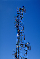 CELLULAR DISHES ON TOWER..
