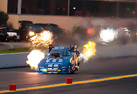 Sep 13, 2019; Mohnton, PA, USA; NHRA funny car driver Matt Hagan during the Reading Nationals at Maple Grove Raceway. Mandatory Credit: Mark J. Rebilas-USA TODAY Sports