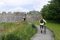 Wikingerburg Trelleborgen, Trelleborg, Provinz Skåne (Schonen), Schweden, Europa<br /> viking Casle Trelleborgen  in Trelleborg, Sweden