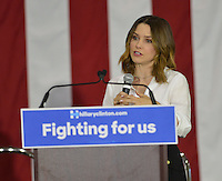 Sophia Bush @ the Women For Hillary Organizing Event held @ West Los Angeles College.<br /> June 3, 2016
