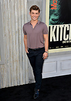 "LOS ANGELES, USA. August 06, 2019: Garrett Clayton at the premiere of ""The Kitchen"" at the TCL Chinese Theatre.<br /> Picture: Paul Smith/Featureflash"