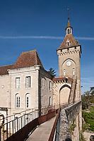 Europe/Europe/France/Midi-Pyrénées/46/Lot/Rocamadour: Le Château