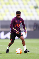 25th May 2021; Gdansk, Poland; Manchester United training at the Stadion Energa Gdańsk prior to their Europa League final versus Villarreal on May 26th;  AMAD