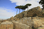 Israel, Jerusalem mountains, Nabi Samuel on Mount Shmuel, the Crusader quarry