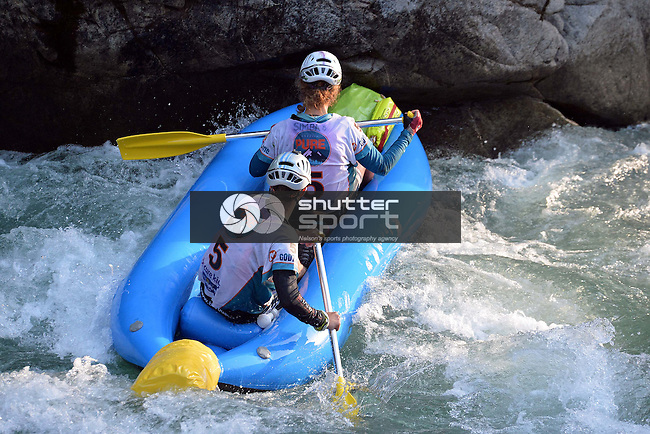 NELSON, NEW ZEALAND - APRIL 4: GODZone Adventure Race C5 Day 3 on the Matakitki River and Murchison, Nelson. April 4, 2016. New Zealand. (Photo by: Barry Whitnall/Shuttersport Limited)