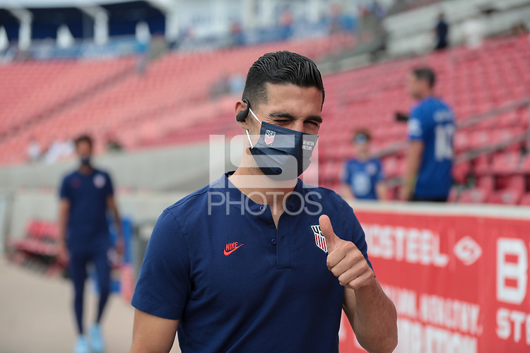 SANDY, UT - JUNE 10: Sebastian Lletget #17 of the United States before a game between Costa Rica and USMNT at Rio Tinto Stadium on June 10, 2021 in Sandy, Utah.