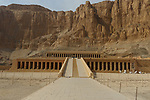 External view of Temple of Hatshepsut in Luxor west Bank