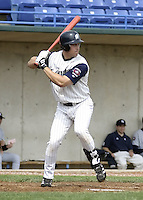 April 21, 2004:  Billy Hogan of the Fort Wayne Wizards, Midwest League (Low-A) affiliate of the San Diego Padres, during a game at Memorial Stadium in Fort Wayne, IN.  Photo by:  Mike Janes/Four Seam Images