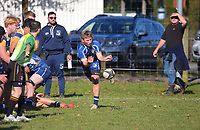 Action from the Waikato college rugby match between Cambridge High School 1st XV and St John's (Hamilton) 2nd XV at Cambridge High School in Cambridge, New Zealand on Saturday, 3 July 2021. Photo: Dave Lintott / lintottphoto.co.nz
