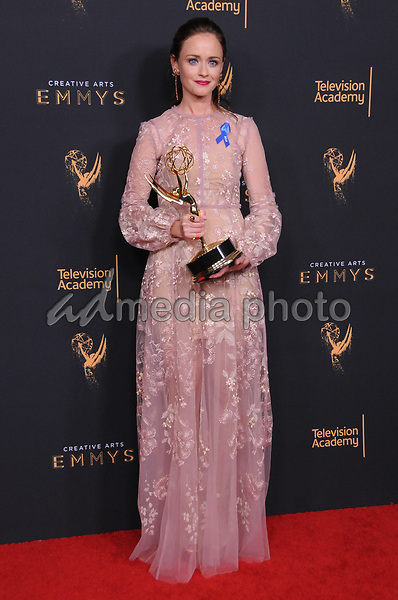 10 September  2017 - Los Angeles, California - Alexis Bidel. 2017 Creative Arts Emmys - Press Room held at Microsoft Theatre L.A. Live in Los Angeles. Photo Credit: Birdie Thompson/AdMedia