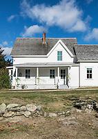 Boyhood home of poet Robert Frost, Derry, New Hampshire, USA