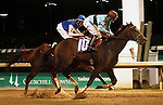 June 28, 2015 Good Lord (Miguel Mena) wins the Kelly's Landing Stakes at Churchill Downs.  Owner Thomas D. Shank and Stan Young, trainer Forrest Kaelin. ©Mary M. Meek/ESW/CSM