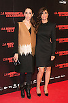"Nur Levi and Maria Botto attends ""La Ignorancia de la Sangre"" Premiere at Capitol Cinema in Madrid, Spain. November 13, 2014. (ALTERPHOTOS/Carlos Dafonte)"