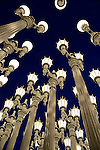 An artistic array of lights brightens the evening sky. (DOUG WOJCIK MEDIA)