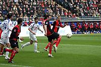 Sotirios Kyrgiakos (Eintracht) klaert<br /> Eintracht Frankfurt vs. VfL Bochum, Commerzbank Arena<br /> *** Local Caption *** Foto ist honorarpflichtig! zzgl. gesetzl. MwSt. Auf Anfrage in hoeherer Qualitaet/Aufloesung. Belegexemplar an: Marc Schueler, Am Ziegelfalltor 4, 64625 Bensheim, Tel. +49 (0) 6251 86 96 134, www.gameday-mediaservices.de. Email: marc.schueler@gameday-mediaservices.de, Bankverbindung: Volksbank Bergstrasse, Kto.: 151297, BLZ: 50960101