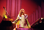 Rick Wakeman 1976 at Hammersmith<br /> © Chris Walter