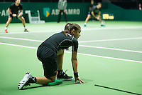 Rotterdam, The Netherlands, February 12, 2016,  ABNAMROWTT, Ball- Girl<br /> Photo: Tennisimages/Henk Koster