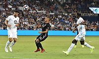 Kansas City, Kansas - Saturday August 22, 2019: Sporting KC defeated Minnesota United FC 1-0 in a Major League Soccer (MLS) game at Children's Mercy Park.