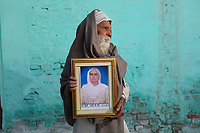 Ajit Singh (68) holds a portrait of his late wife, Manjit Kaur, who died in 2012 of cancer, aged 65. It is believed that excessive pesticide use in the region over the past 30-40 years has led to the accumulation of dangerous levels of toxins such as uranium, lead and mercury which are contributing to increased health problems including cancers, birth defects and mental disabilities in children. It's a hidden epidemic which is gripping the Punjab region in northeast India which for decades has been the country's 'bread basket'. As local farmers and their families continue to get ill they are paying the price for the country's 'Green Revolution'.