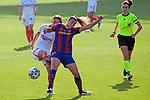 Liga IBERDROLA 2020-2021. Jornada: 12<br /> FC Barcelona vs Sevilla: 6-0.<br /> Ana Franco de la Vega vs Patri Guijarro.
