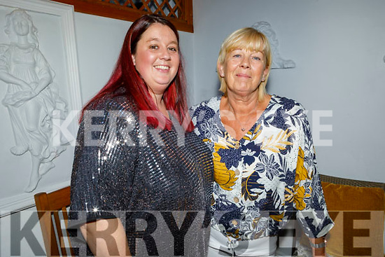 Nicola O'Sullivan and Caroline Hutchinson from Tralee enjoying the evening in Bella Bia on Saturday.