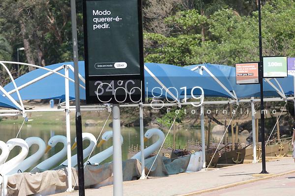 Campinas (SP), 20/09/2021 - Lagoa do Taquaral - Movimentação dentro da Lagos do Taquaral.