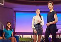 Woman On The Verge of A Nervous Breakdown The Musical. Based on the movie by Pedro Almodovar. Music and Lyrics by David Yazbek,Book by Jeffrey Lane, directed by Bartlett Sher. With Anna Skellern as Candela, Seline Hizli as Marisa, Tamsin Greig , Pepa Marco. Opens at The Playhouse Theatre on 12/1/15. CREDIT Geraint Lewis
