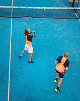 Netherlands, September 5,  2020, Amsterdam, Padel Dam, NK Padel, National Padel Championships, Mens Doubles: Berend Boers (NED) and Peter Bruijsten (NED)<br /> Photo: Henk Koster/tennisimages.com