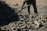 Coal making place in Samaria