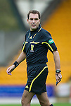 St Johnstone v Hibs...02.10.10  .Ref Dougie McDonald.Picture by Graeme Hart..Copyright Perthshire Picture Agency.Tel: 01738 623350  Mobile: 07990 594431