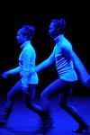 FUTAGO....Choregraphie : HUYNH Emmanuelle..Lumiere : WATARIKAWA Tomohiko , FUJIMOTO Takayuki..Costumes : HUYNH Emmanuelle..Avec :..LANDREAU Aline..LIN I Fang..Lieu : Theatre de la Cite Internationale..Ville : Paris..Le : 21 04 2009..© Laurent Paillier/ www.photosdedanse.com..All rights reserved