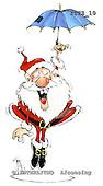 Fabrizio, Comics, CHRISTMAS SANTA, SNOWMAN, paintings, ITFZ10,#x# stickers Weihnachten, Navidad, illustrations, pinturas