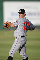 August 11, 2009: Petr Cech of the Billings Mustangs.The Mustangs are the Pioneer League affiliate for the Cincinnati Reds. Photo by: Chris Proctor/Four Seam Images