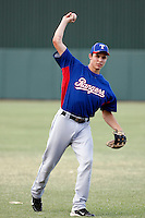 Drew Robinson - AZL Rangers - 2010 Arizona League.  Photo by:  Bill Mitchell/Four Seam Images..
