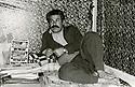 Iran 1980.Failak Eddine Kakai in his office of Rajan   Iran 1980 Failak Eddine Kakai dans son bureau de Rajan